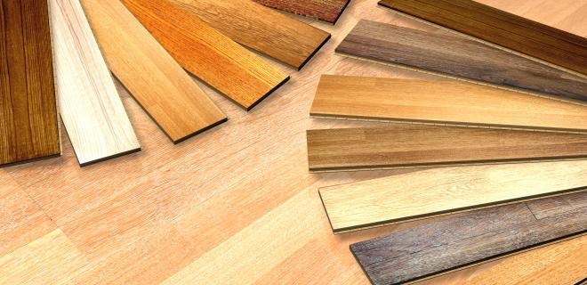 wood laminate flooring samples
