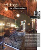 Fall 2010 R & A Magazine - Ceilings: The Forgotten Surface