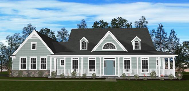 rendering of savannah model home