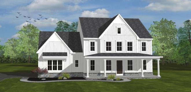 arlington model home