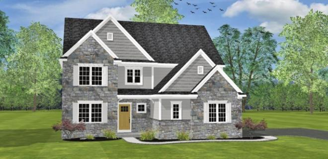 lexington model home