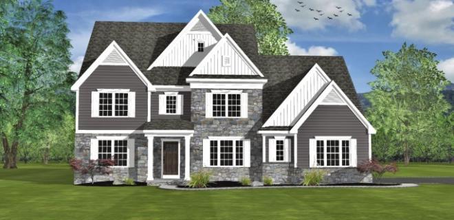 portland model home