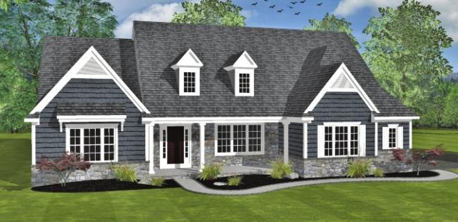 raleigh model home