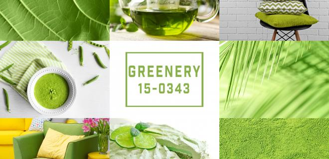 summer decor trends - greenery