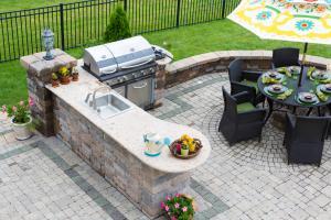 outdoor patio oasis