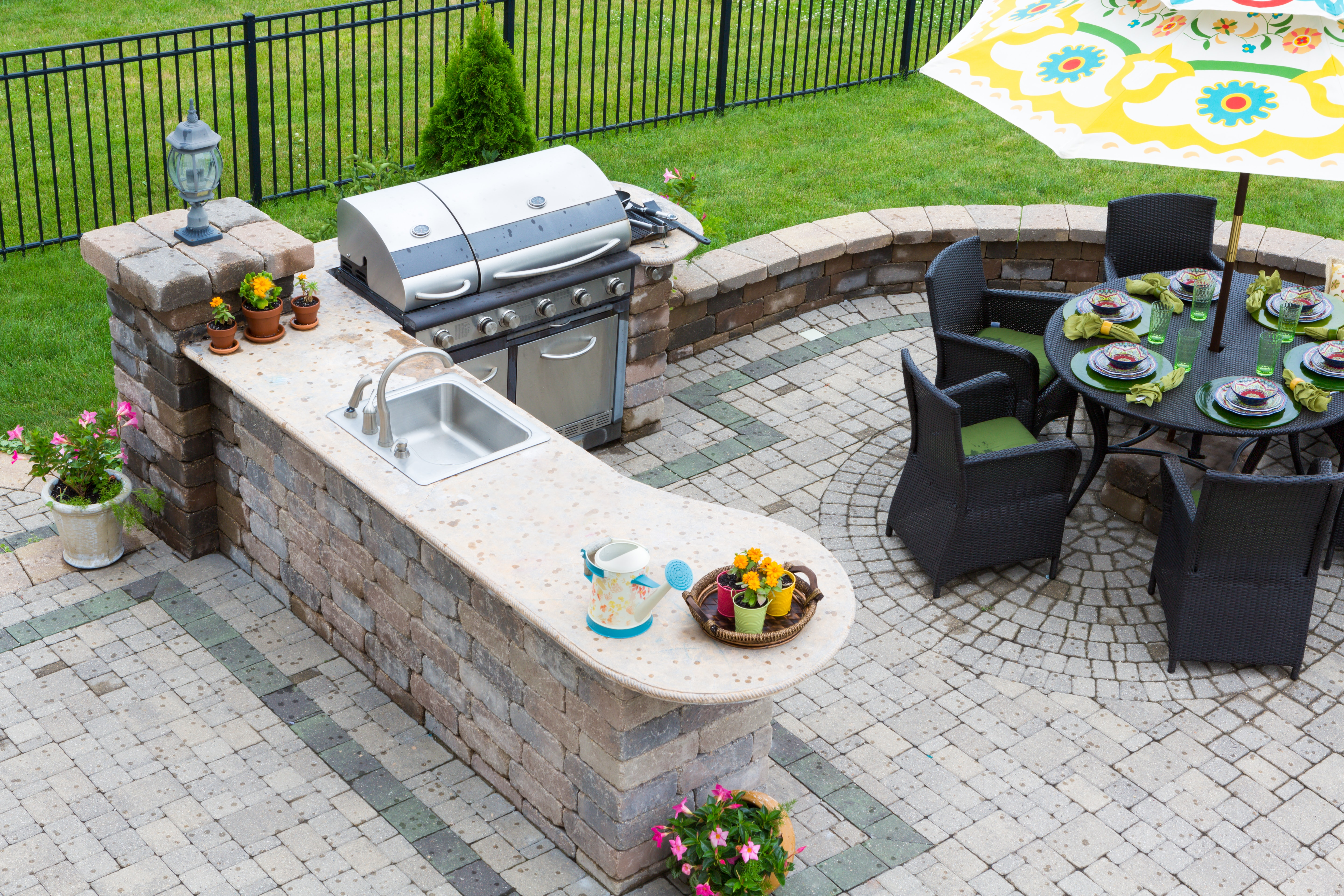 how to create your own ideal patio oasis custom home group