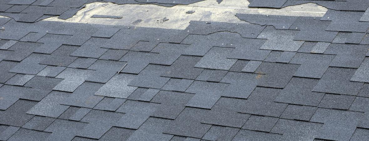 replace your roof - missing shingles on roof