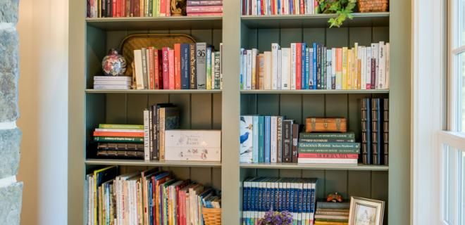 2018 decor trends - home library