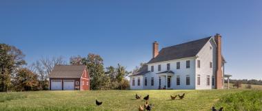 manheim farmhouse with detached garage