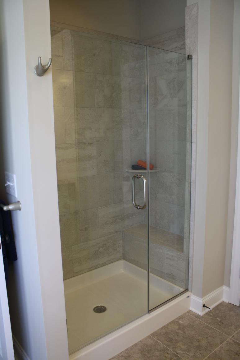 walk in shower unit