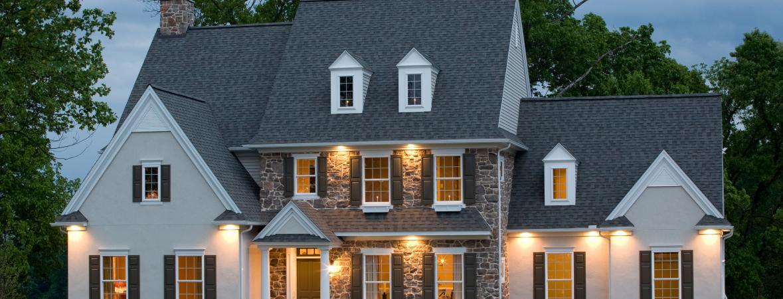 custom home in stein hill