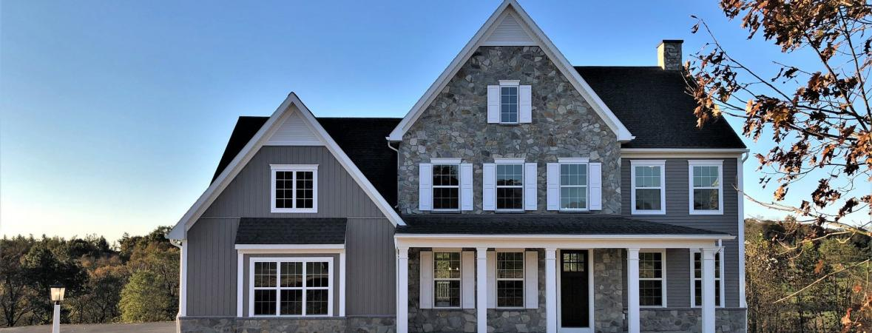 custom home in lap ridge