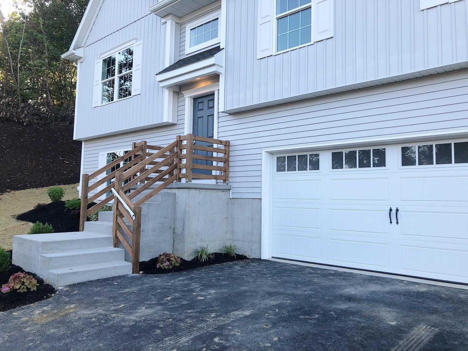 exterior of custom home