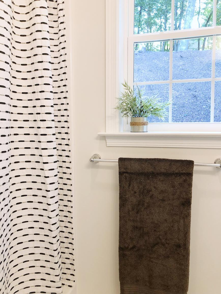 window in master bathroom