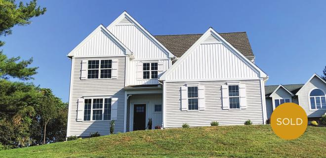 custom model home in leola pa