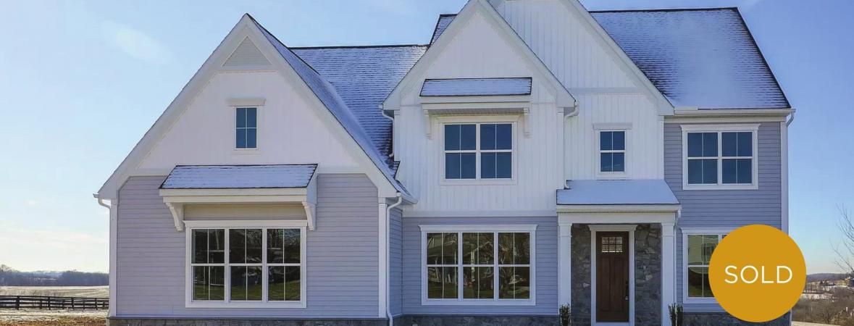 sold custom home